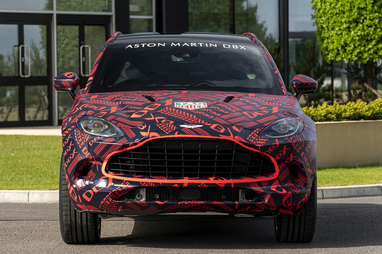 Foto de Aston Martin DBX, preproducción (16/23)