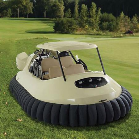 El carrito de golf hovercraft de Bubba Watson