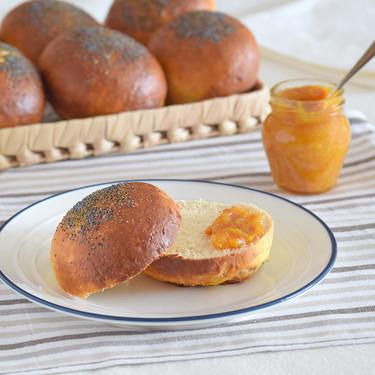 Panecillos de crema de queso: receta fácil de panadería para rellenos dulces o salados