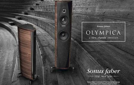 Sonus Faber presenta Olympica, su nueva línea de altavoces con sabor clásico