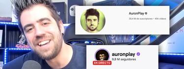 AuronPlay deja YouTube y confirma la tendencia: las razones que explican que Twitch sea el nuevo hogar de grandes youtubers