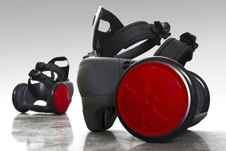 SpnKiX, unos zapatos motorizados