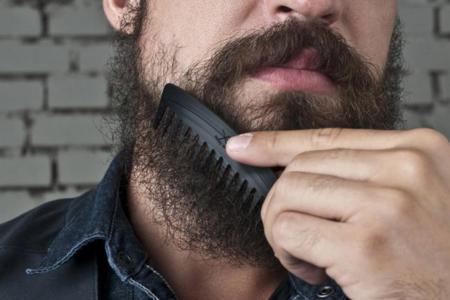 Si quieres ser hipster de verdad, mésate la barba con estos peines hechos de viejos discos de vinilo