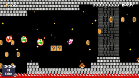 Super Mario Maker 2 - Guía Modo Noche