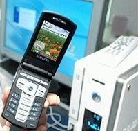 Samsung presenta la pantalla de plasma más grande del mundo.