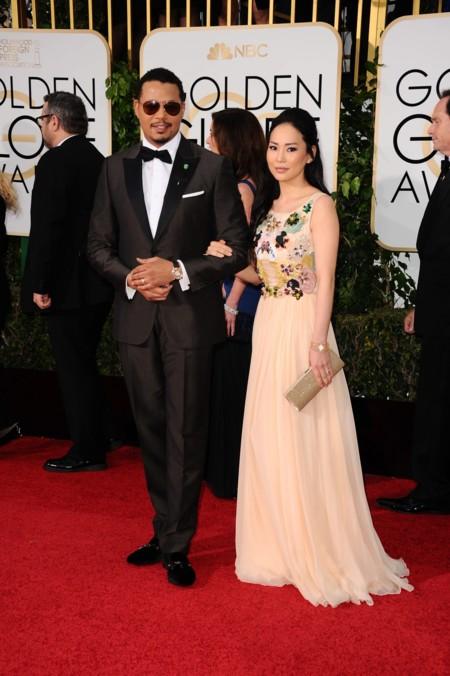 Terrence Howard y Mira Pak