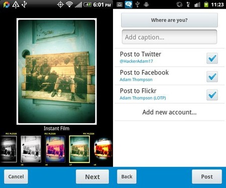 Aplicacion Fotografia Android