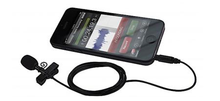 SmartLav de R0de, un micrófono de solapa para el iPhone