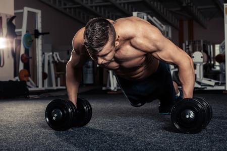Ejercicio marcar músculo