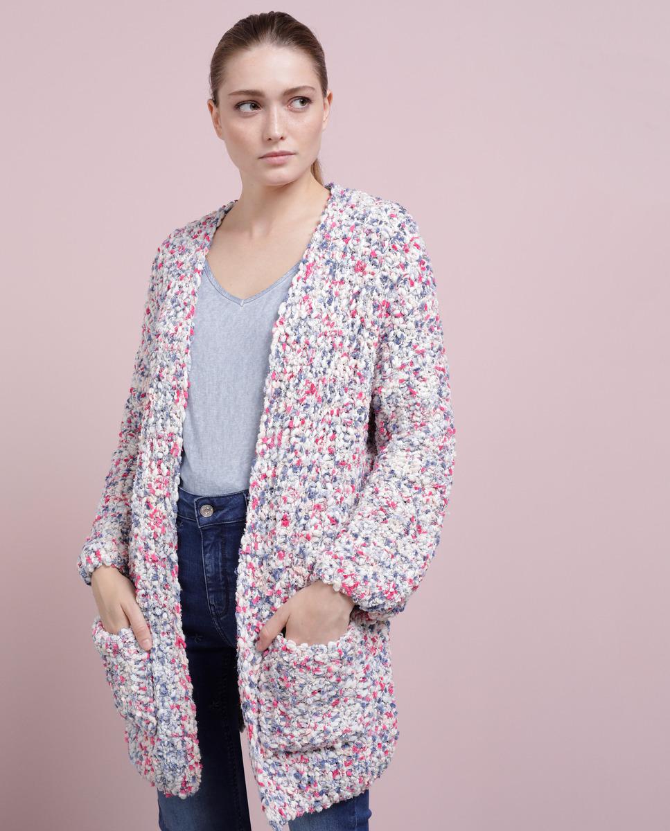 Chaqueta de punto multicolor de mujer Southern Cotton