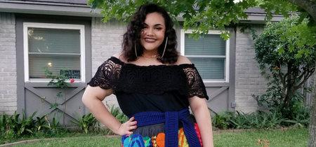 Una joven mexicana convierte en viral su vestido de graduación gracias a su mensaje 'body positive' y cultural