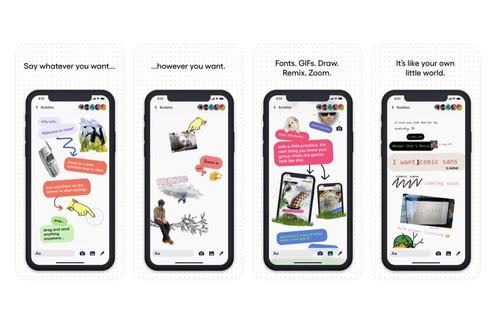 Anarquía en la mensajería: probamos una nueva app que facilita un lienzo infinito en el que expresarnos libremente