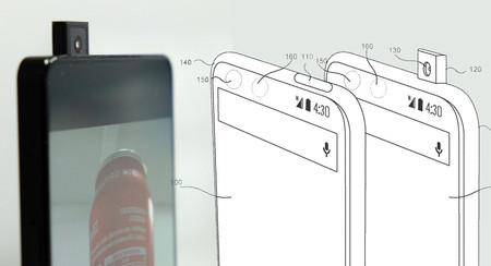 ¿Cámara retráctil a lo Vivo Apex o integrada en la pantalla? Essential tiene una patente para eso