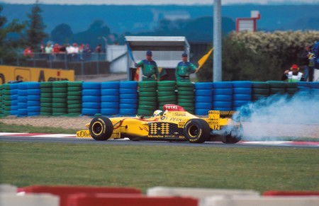 Fisichella Jordan Peugeot F1 1997
