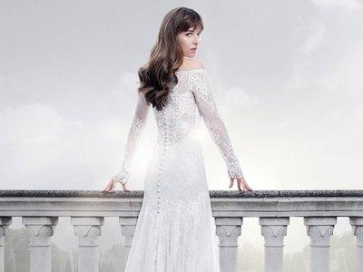 Así es el vestido de novia de Anastasia Steele en 'Cincuenta sombras liberadas', diseñado por Monique Lhuillier