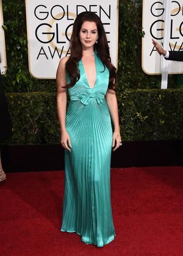 Lana de Rey se convierte en Ariel de La Sirenita en los Globos de Oro 2015