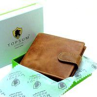 Cartera de cuero de Topsum en oferta flash de Amazon por sólo 12,67 euros
