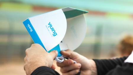 Con su televisor reciclable, Viuing quiere ampliar la experiencia en eventos deportivos