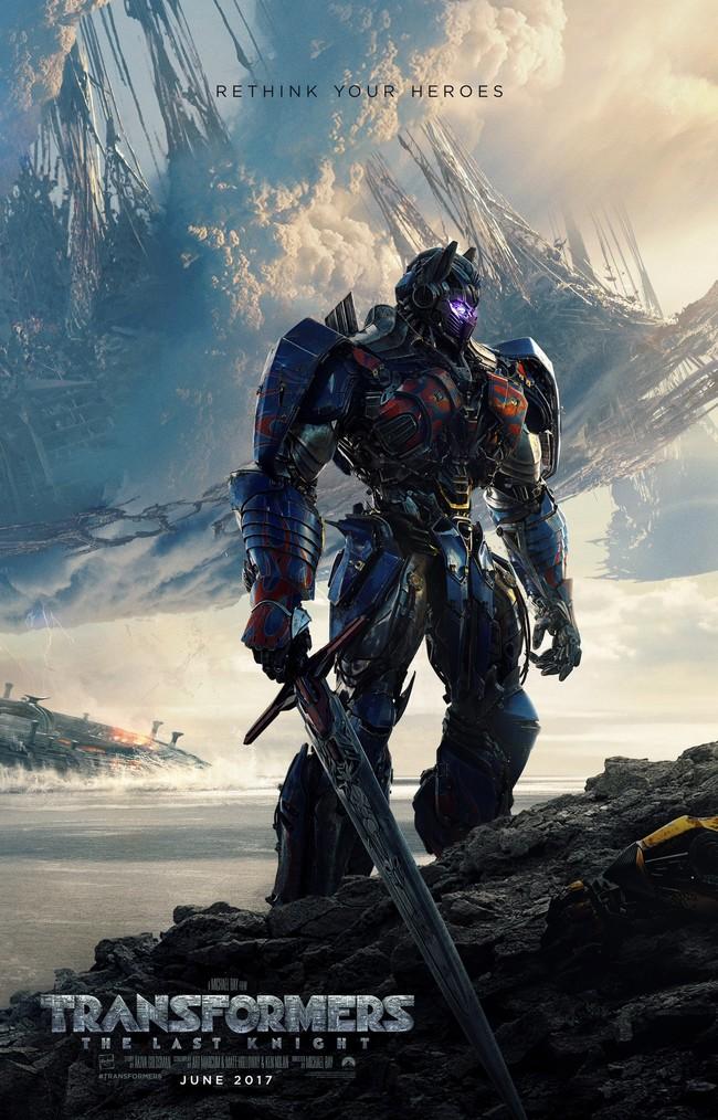 Cartel de Transformers 5