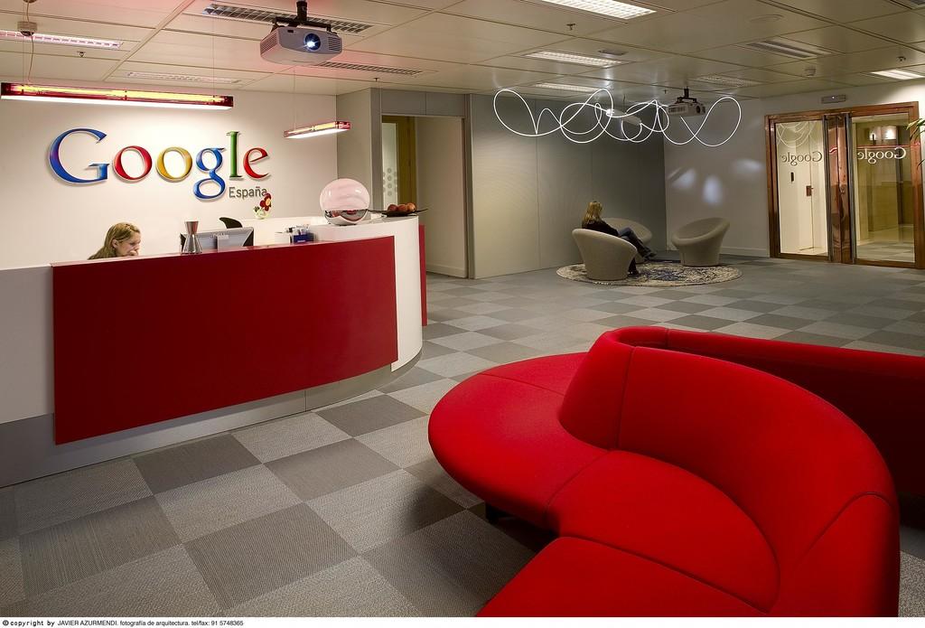 oficinas google españa