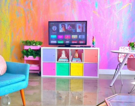 La casa más multicolor de Instagram se ha convertido en toda una sensación viral: ¡que vivan los arco iris!