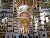 "Notre-Dame de la Garde, la ""Bonne Mère"" de Marsella"