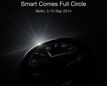 LG publica la primera imagen promocional de su smartwatch con pantalla circular