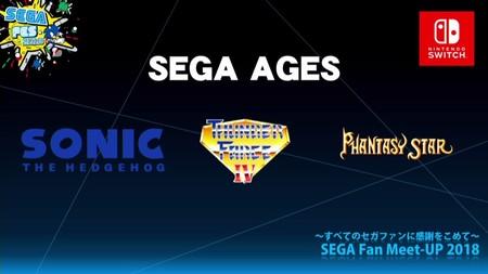 SEGA Ages, un recopilatorio de juegos clásicos de SEGA, llegará en verano a Nintendo Switch