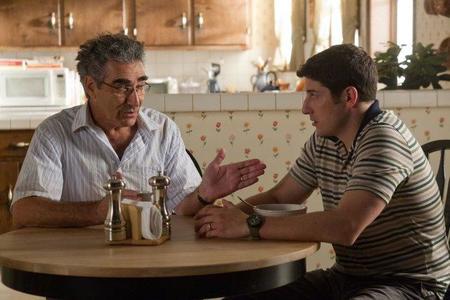 Jim con su padre en