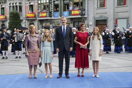 Familia Real Princesa De Asturias 2019