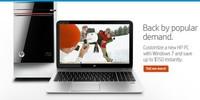 HP no acepta el paso y vuelve a ofrecer equipos con Windows 7