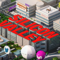 ¿Cuántos guiños a empresas tecnológicas detectas en los títulos de crédito de 'Silicon Valley'?
