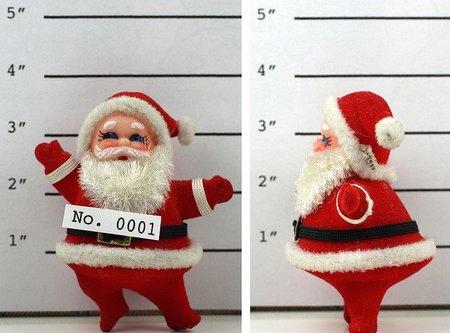 Papa Noel con grilletes, Reyes Magos en el cuartelillo