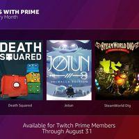 Jotun, Steamworld Dig, Antihero y más juegos para descargar gratis con Twitch Prime en agosto