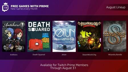 Twitch Prime Cinco Juegos Para Descargar Gratis En Twitch En Agosto