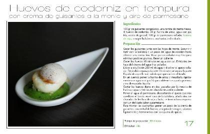 Huevos de codorniz en tempura