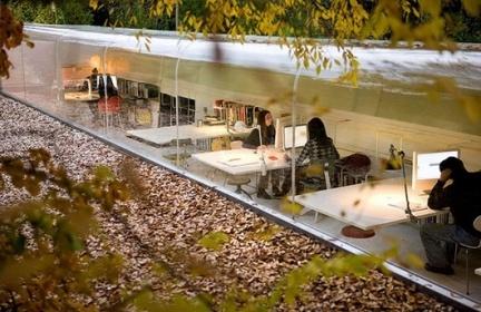 Espacios para trabajar: oficinas diseñadas por Selgas Cano en Madrid