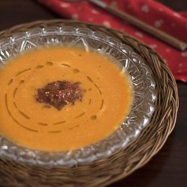 Crema de tomate con pesto rojo, receta de Gordon Ramsay