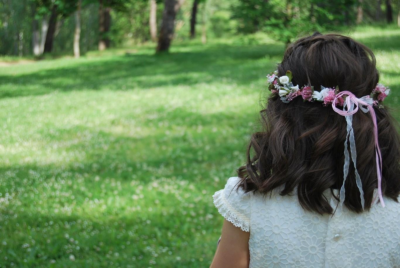 Peinados para fiesta de niña