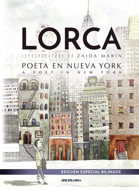 Libro Poeta en Nueva York ilustrado