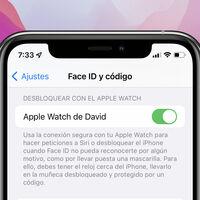El desbloqueo del iPhone con el Apple Watch se actualiza en iOS 15 y permite autenticar peticiones personales