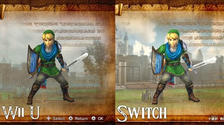 Las versiones de Nintendo Switch y Wii U de Hyrule Warriors cara a cara en un vídeo comparativo