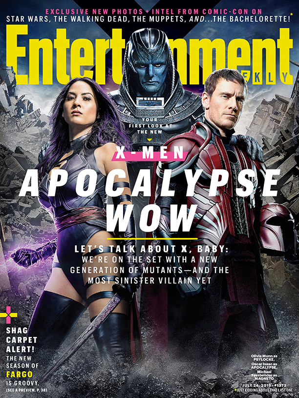 Foto de 'X-Men: Apocalypse', nuevas imágenes oficiales (1/17)