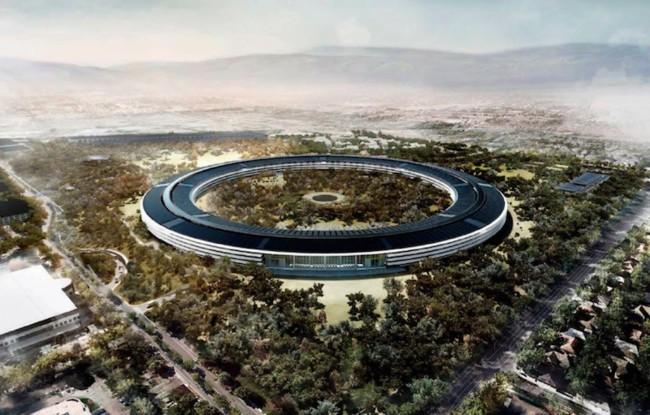 Nuevo vídeo aéreo muestra el progreso en la construcción del Apple Campus 2