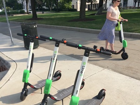 Scooters Lime Problemas