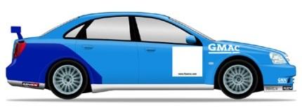 Decorando el Chevrolet Lacetti WTCC 2008