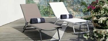 Cinco tumbonas de terraza para relajarse y tomar el sol incluso en espacios pequeños