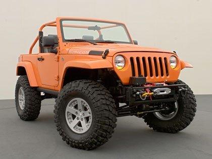 Más imágenes del Jeep Wrangler Rubicon King