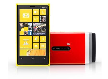 Los Nokia Lumia 920, 820 y 620 se podrán comprar por 669, 499 y 269 euros