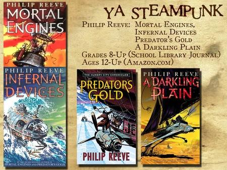 Las cuatro novelas de Philip Reeve